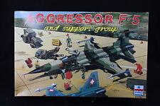 YA014 ESCI 1/48 maquette avion 4079 Aggressor F-5 and support group