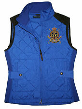 Exclusive Polo Ralph Lauren Circuit Hunting Damen Steppweste Gr.S