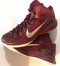 Nike 685777-602 Hyperdunk Lunarlon 2014 Basketball Shoes Sz 17 Burgundy It/232