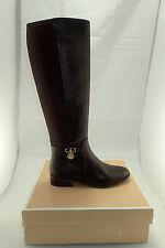 NIB Michael Kors MK 40F5HAFB1L HAMILTON 50/50 Dk Chocolate Tall Boots Sz. 6 GIFT