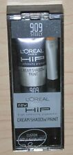 L'Oreal Loreal Hip Cream Shadow Paint Eye Makeup with Brush #909 Steely RARE HTF