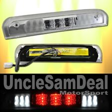 DODGE RAM CLEAR LENS 3RD THIRD RED LED L.E.D. BRAKE STOP CARGO LIGHT DIRECT FIT
