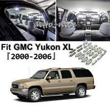 20 Bright White Bulb For GMC Yukon XL 2000-2006 LED Interior Light Package Kit