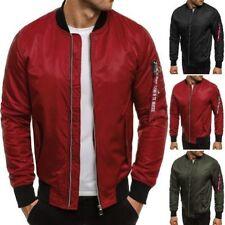 Zip Nylon Bomber, Harrington Coats & Jackets for Men