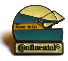 Pin Spilla Casco Kenny Bräck Pilota (Sponsor Continental)