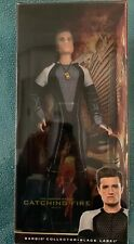The Hunger Games Barbie Ken Doll Peeta Catching Fire Josh Hutcherson  Y3356 NEW