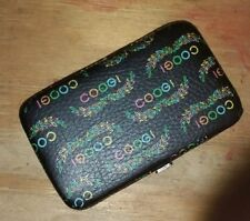 COOGI Wristlet Purse Wallet Black Logo Retro 90's