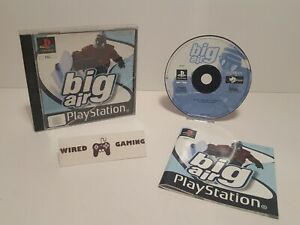 Big Air - PS1 (Sony Playstation 1) Complete (PAL) Black Label