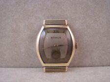 Vintage Benrus Swiss 21 Jewel Model AT 15 Hidden Lugs Art Deco Watch