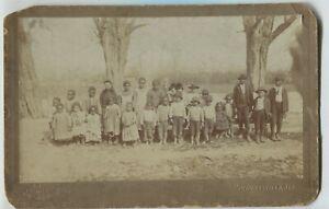 Antique African American Children Cabinet Photo Huntsville Alabama Collins