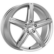 "4-Vision 469 Boost 17x7 5x115 +38mm Silver Wheels Rims 17"" Inch"