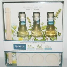 YANKEE CANDLE REED DIFFUSER BLENDING KIT TRANQUIL RITUAL AROMATHERAPY GIFT SET