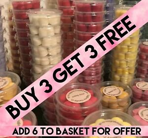 Highly Scented Soy Wax Melts Multi Buy Discount