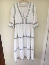 Flannel Garden Party Maxi Dress, Size 1, BNWT Boho RRP$465