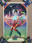 WELCOME TO RED PLANET #1/85 Screen Print Poster by Carlos Valenzuela not Mondo
