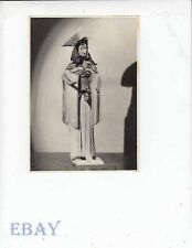 1940's doll in clothes Vintage 5 X 7 Photo