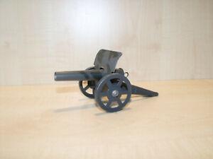 9373) Ungemarkt - Erbsenkanone Feldgrau - Blech - L. 16 cm - ansehen