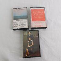 Lot of 3 Dale Rita Lidstrom Music Cassettes Christian Praise Worship Heart Jesus