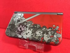 USED Nintendo Japan 3DS DS LL Game Console Dairantou Smash Brothers Edition F/S