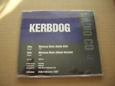 KERBDOG - MEXICAN WAVE - RADIO PROMO CD SINGLE - JEWEL CASE