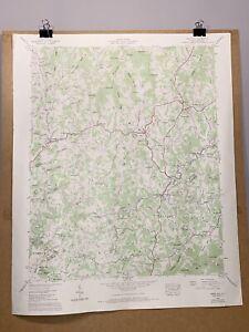 Mars Hill North Carolina Tennessee Valley Authority TVA Map Madison Buncombe Co