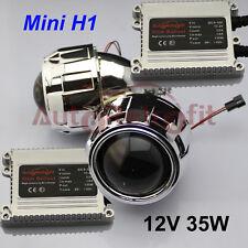35W Mini H1 2.5'' HID Bi-xenon Projector Lens Kit+AC Ballasts and Wiring Harness