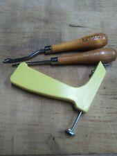 Vintage Latch Hook Rug Tool Wooden Handle Yarn Hooking Craft (assortment)