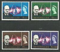 Album Treasures Seychelles Scott # 222-225  Churchill  Mint LH