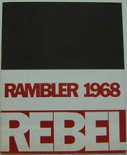 American Motors Rambler Rebel 1968 Original Export Sales Brochure In English