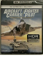 NEW AIRCRAFT CARRIER / FIGHTER PILOT 4K ULTRA HD BLU RAY DOLBY ATMOS 2 disc set