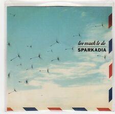 (GF986) Sparkadia, Too Much To Do - 2008 DJ CD