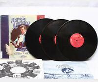 Giordano Chenier Domingo Scotto Milnes Levine 3 LP Vinyl Record Box ARL3-2046