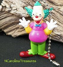 KRUSTY THE CLOWN FOX TV CHARACTER THE SIMPSONS CEILING FAN LIGHT SWITCH PULL NEW