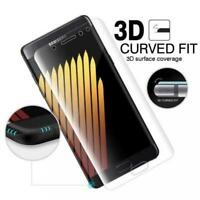SAMSUNG GALAXY NOTE 7 FE - FULL COVER SCREEN PROTECTOR HD CLEAR LCD FILM CURVED