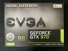EVGA NVIDIA GeForce GTX 970 SC Gaming ACX 2.0 4GB GDDR5 Graphics Card
