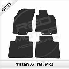 NISSAN X-TRAIL Mk3 2014 onwards Fully Tailored Fitted Carpet Car Mats GREY