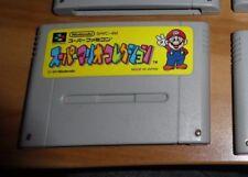 GAME/JEU SNES KONAMI SUPER NITENDO JAPANESE VERSION SHVC-4M MARIO JAPAN