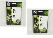 4 Pack HP #65 Cartridges Combo 65 Black & Color (2 of each) NEW GENUINE