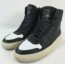 Givenchy Paris Urban Knots Black White Hi Top Sneaker Sz 10 EU 43