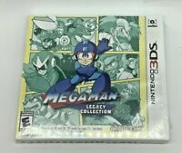 Mega Man Legacy Collection Nintendo 3DS Brand New Factory Sealed 2016