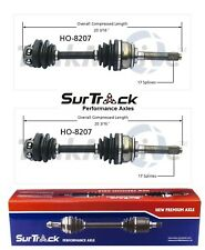 For Acura SLX Isuzu Trooper 4WD Pair Front CV Joint Axle Shafts SurTrack Set