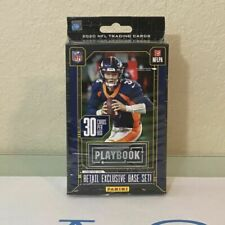 Panini NFL 2020 Playbook Football Hanger Box - Pack of 30