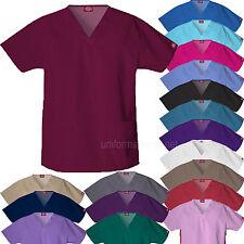 Dickies Scrubs Shirts Womens V-Neck 2 Pockets Top Eds Medical Uniforms 810506