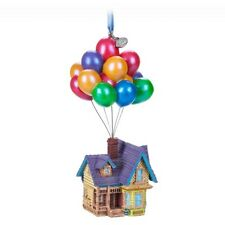 UP House~BOXED~BALLOONS~Sketchbook~Christmas~Ornament~PIXAR~NWT~Disney Store