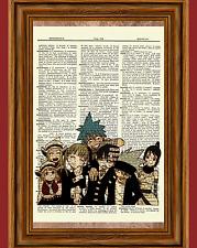 Soul Eater Dictionary Art Print Poster Picture Anime Manga Evans Death Kid Maka