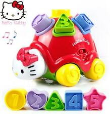New Cute Hello Kitty Kids Children Shapes & Soulds Ladybug Toy Gifts 12M+