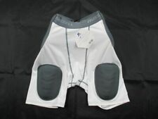 Russell Athletic Padded Compression Shorts Men's White/Gray New Multiple Sizes