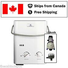 Eccotemp L5 Water Heater Shower Bundle with 12v Pump & Strainer *NEW*