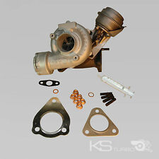 VW AUDI turbocompresor 1,9 TDI 038145702n aVF AWX BPW 96kw 130ps + kit de montaje