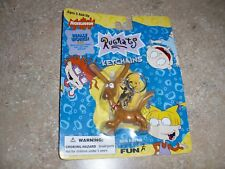 NEW~SPIKE DOG~KEY CHAIN~BEND&POSE EARS TAIL NECK LEGS !((& NICKELODEON Rug Rats